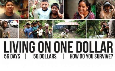 Indrukwekkende documentaire Living on one dollar