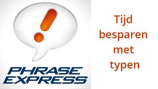 Automatisch typen met Phrase express