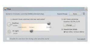 flux-helderheid-scherm-aanpassen