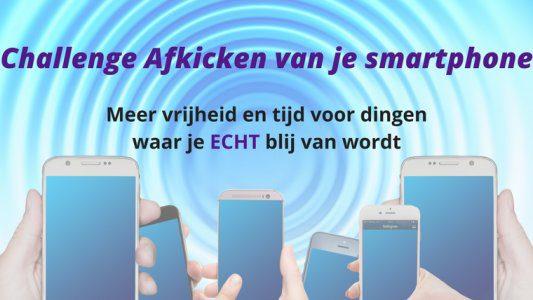 Challenge Afkicken van je smartphone