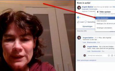 Hoe kun je een Facebook LIVE video downloaden