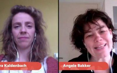 035 Vibe in Actie interview over zichtbaarheid en actie met Eva Kaldenbach