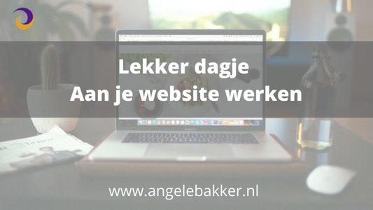 Meer resultaat met je website