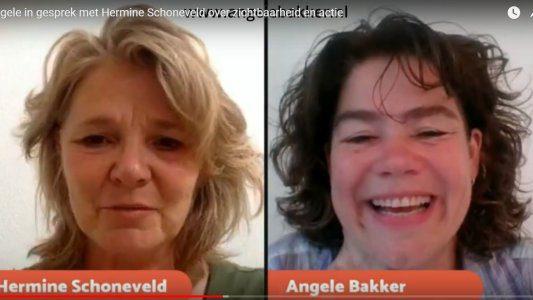 045 Vibe in Actie interview over zichtbaarheid en actie met Hermine Schoneveld
