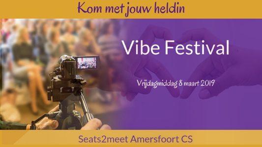 Vibe festival - kom met jouw heldin