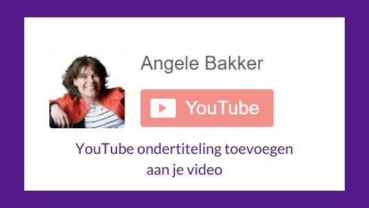 YouTube ondertiteling maken